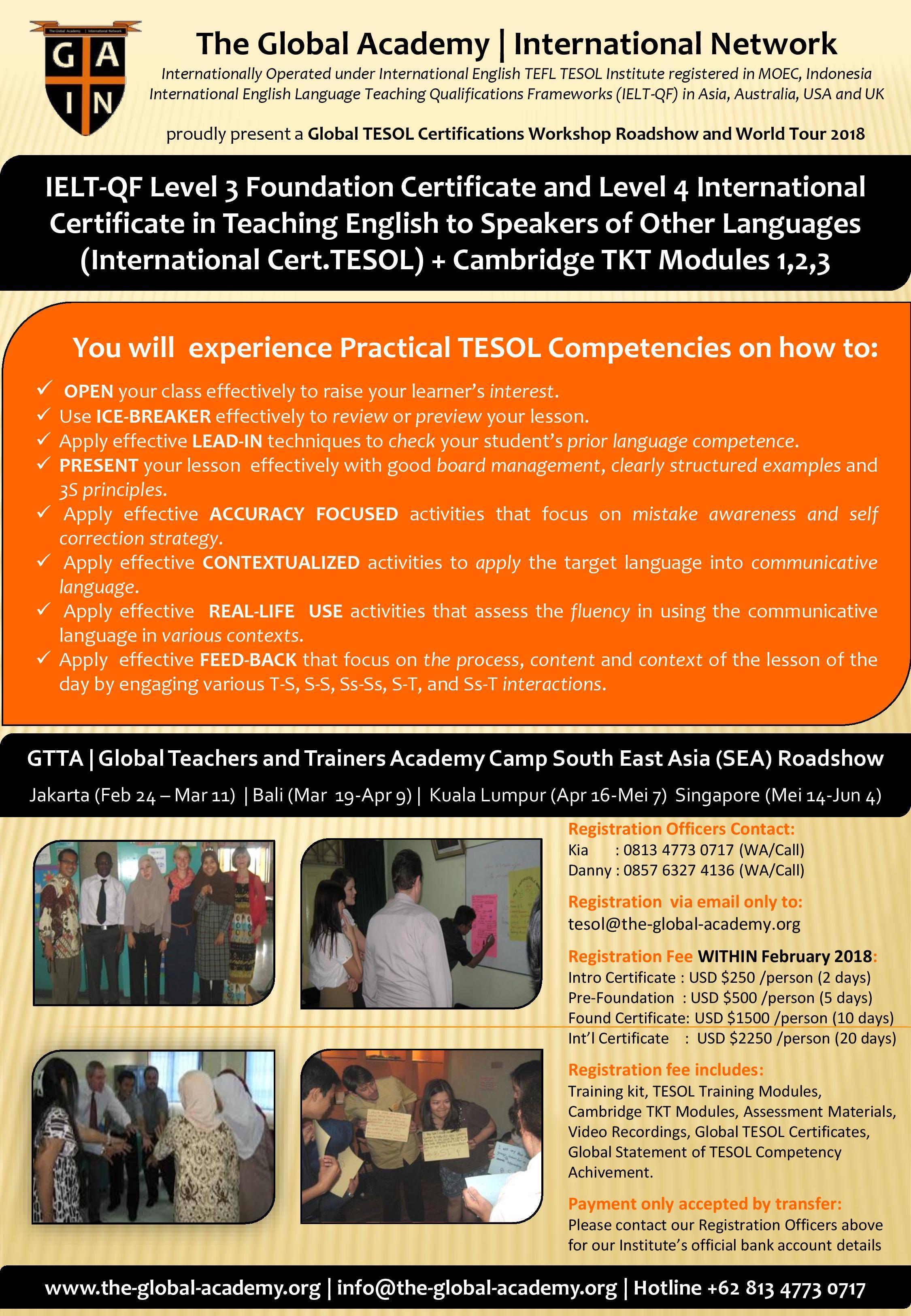 Global Teachers And Trainers Academy